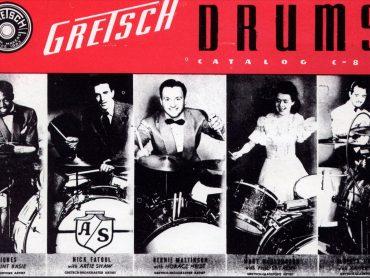 Gretsch, a bateria das lendas