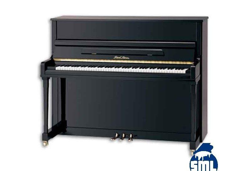 piano vertical pearl river preto polido 3 pedais premium profissional