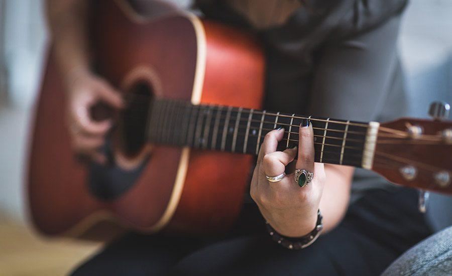 afinações de guitarra